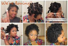 Love this girl she always has the best hairstyles for short/med natural hair.