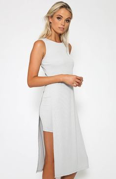 El Monte Dress - Grey from Peppermayo.com