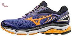 Mizuno Wave Inspire 13 (w), Chaussures de Running Entrainement Femme, Violet (Liberty/Orange Pop/White), 43 EU - Chaussures mizuno (*Partner-Link)