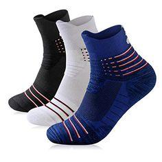Mens Ankle Athletic Socks Men's Running Sports 3/5/6/7 pairs Socks Comfort Cushioned Running Tab Socks Mens Novelty Socks, Running Sports, Athletic Socks, Best Sellers, Pairs, Ankle, Fitness, Fashion, Moda