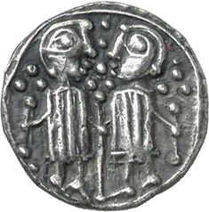 Anglo-Saxon Coinage, Silver early penny. Germanic or Insular influence. Series N, c. 715-25. CM.1863-2007, De Wit Collection