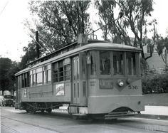 LA vintage  Streetcar