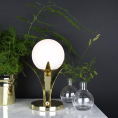 Buy your Savoy table lamp from Globen Lighting at Nordic Nest. Decor, Table, Lamp Decor, Lamp, Brass Table Lamps, Light Bulb, Lighting, Home Decor, Savoy