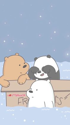 We Bear Ice Bear We Bare Bears Cute Wallpapers We We throughout We Bare Bears Wallpaper Hd Iphone - All Cartoon Wallpapers Cute Panda Wallpaper, Cartoon Wallpaper Iphone, Bear Wallpaper, Cute Disney Wallpaper, Kawaii Wallpaper, Cute Wallpaper Backgrounds, Colorful Wallpaper, Wallpaper Desktop, Screen Wallpaper