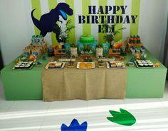 Dinosaur Birthday Party Ideas | Photo 1 of 19 | Catch My Party