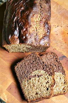 Biscoff and Nutella swirl Banana Bread - Heather's French Press