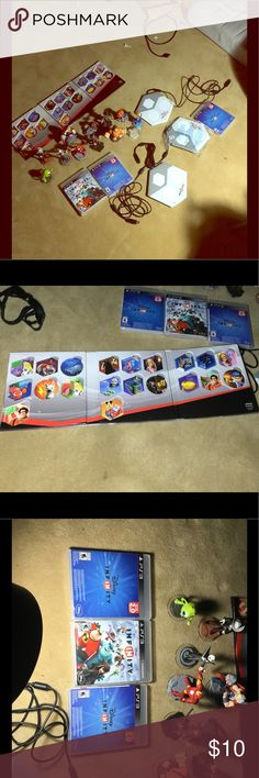 Disney infinity It's 10$ for each product  and yes the price is negotiable Disney Accessories