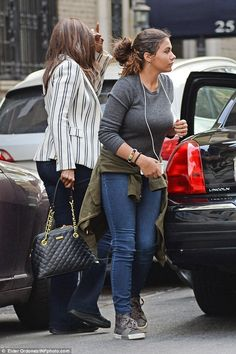 Iman and daughter Alexandria (age 15) in May 2016. David Bowies daughter.