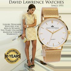 Beautiful Luxury European Watches at Affordable Prices for Men and Women Mens Designer Watches, Affordable Watches, Luxury Designer, Classic Style, Watches For Men, David, Beautiful, Women, Fashion
