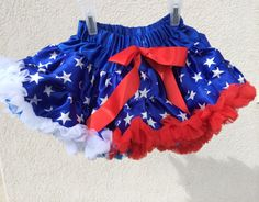 Baby Toddler Girls Pettiskirt Tutu Skirt Red, White And Blue Stars Fluffy Holiday by adorablebyme on Etsy https://www.etsy.com/listing/188407738/baby-toddler-girls-pettiskirt-tutu-skirt