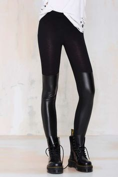 Nasty Gal Meet Me Halfway Leggings | Shop Clothes at Nasty Gal!