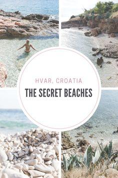 The secret beaches of Hvar, Croatia - from travel blog http://Epepa.eu