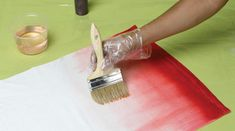 Best video and instructions on how to ombre dye by painting it on fabric