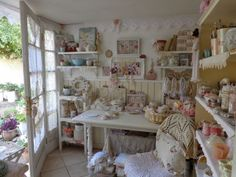 I want an ORGANIZED craft room someday with lots of windows, sunshine beaming in, & tons of imagination to bloom. bh