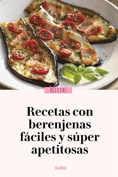 Recetas con berenjenas fáciles y súper apetitosas – Fırın yemekleri – Las recetas más prácticas y fáciles Yellow Squash Recipes, Eggplant Recipes, Appetizer Recipes, Dinner Recipes, Yummy Veggie, Cooking Recipes, Healthy Recipes, Good Food, Food And Drink