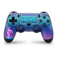 Loot Llama Playstation 4 Pro/Slim Controller Skin,Fortnite Fan Art, High quality vinyl to customize and protect your controller Epic Games Fortnite, Games Stop, Ps4 Games For Kids, Control Ps4, Xbox 360, Cover Design, Best Gaming Wallpapers, Ps4 Skins, Playstation 4 Console