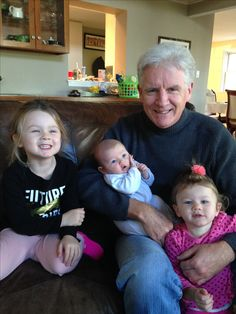 Pop with is 3 beautiful granddaughters