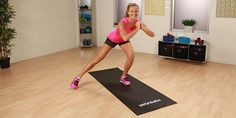 Short-Shorts Workout: Leg- and Butt-Toning Moves Her videos are so useful !!! :D