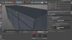 Free CINEMA 4D Chamfer Maker modeling tutorial - a kitchen cabinet on Vimeo