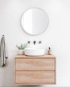 Laundry In Bathroom, Bathroom Inspo, Bathroom Inspiration, Master Bathroom, Bathroom Tapware, Bathroom Renos, Basin Sink, Bathroom Interior Design, New Home Designs