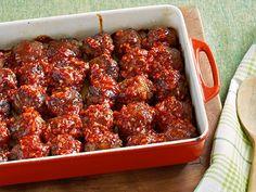 Comfort Meatballs Recipe : Ree Drummond : Food Network - FoodNetwork.com