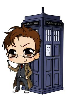 10th Doctor Who by Mibu-no-ookami on deviantART