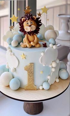 Baby Boy Cakes, Cakes For Boys, Baby Shower Cakes, Baby Boy 1st Birthday Party, Pink Birthday Cakes, Cake Designs For Boy, Cake Decorating Piping, Occasion Cakes, Celebration Cakes
