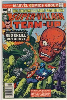 Looking at some classic comic book covers