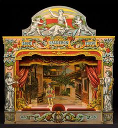 Lope Calderon Tirso - Paper Theater http://www.victoriana.com/theater/papertheaters.html