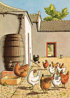 my vintage book collection (in blog form).: The Tidy Hen - illustrated by Antony Groves-Raines
