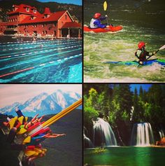 Ever wonder why we're the Most Fun Town in America? #glenwoodsprings #adventure #colorado