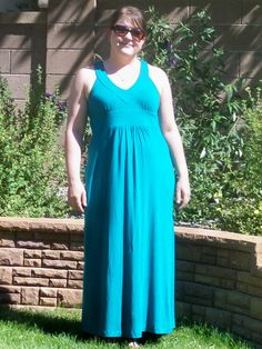 Byrdie Couture: Pattern Review: Simplicity 3503 Maxi Dress