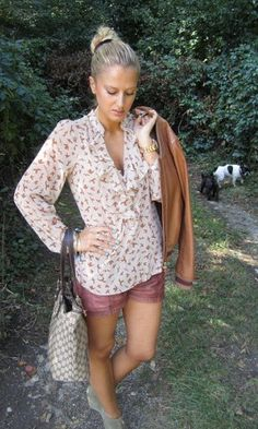 love this Zara blouse