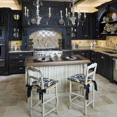 black kitchen cabinets - page 8