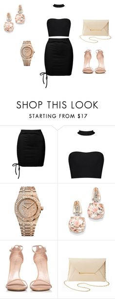 """""""Summer Time"""" by nyihaaaa ❤ liked on Polyvore featuring Sans Souci, Audemars Piguet, BillyTheTree, Stuart Weitzman and Charlotte Russe"""