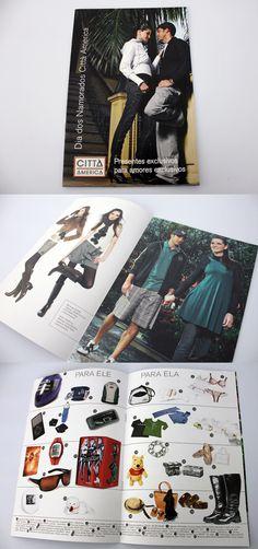 Catálogo de moda para o Shopping Città America.