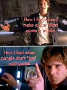 this was more applicable in the 90s before the revival of SW, but it stills happens today.