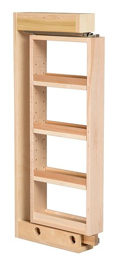 """Century Components WCF336PF Pull-Out Wood Wall Cabinet Filler - 3"""" x 36"""""""