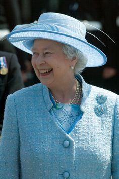Aquamarine Clips.  Queen Elizabeth, 2005