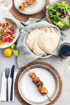 Chicken kebabs with a yoghurt, paprika and lemon marinade recipe #chicken #recipe