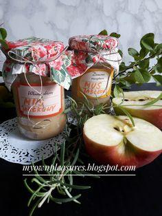 Mus jabłkowy z chrzanem i rozmarynem - przepis