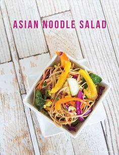 Asian Noodle Salad o
