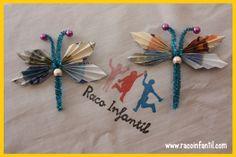 Hoy os enseñamos cómo hacer una mariposa con billetes de euros de manera fácil como regalo de boda o cumpleaños.  http://www.racoinfantil.com/manualidades/mariposa-con-billetes/