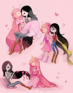 Marceline with PB by ~SASASAMI on deviantART