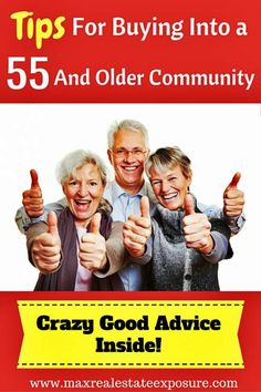 What is a 55 and Older Community? A retirement community is a particular neighborhood that has been built for adults who are at least 55 years of age. See The Best Tips For Buying in an Active Adult Community: http://www.maxrealestateexposure.com/tips-buying-55-and-over-retirement-community/