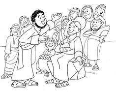 Peter and Cornelius Coloring Page