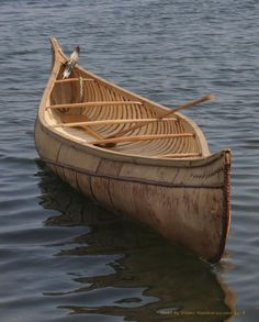 Penobscot Wigwams | Birchbark canoe