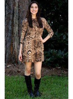 Walk on the Wild Side Dress
