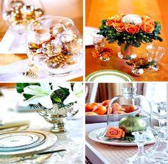 Christmas Centerpiece decorating - Trend Christmas Table Design