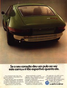 Volkswagen SP2 - Advertising of those days